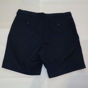 Roundtree /& Yorke Big /& Tall Men/'s Expander Waistband Flat Front Shorts 44